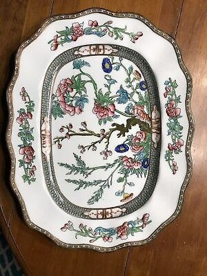 Coalport Indian Tree China Oval Serving Platter