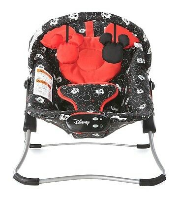 Disney Mickey Mouse Baby Swing Snug Fit Bouncer Mickey Set Comfortable Vibration