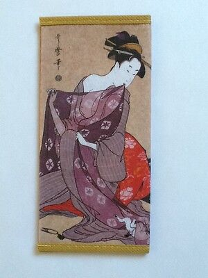 Japanese Rice Paper Wallet / Cheque Holder - Made in Japan