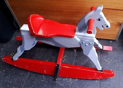 Rocking horse - unique hand crafted PRICED TO SELL, NOT BASED ON CONDITION