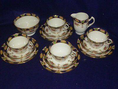 Royal Standard Tea Cup Trio - Set of Four and Tableware