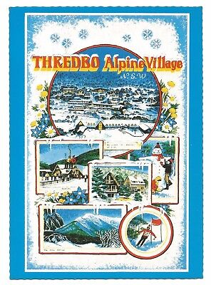NSW - c1970s POSTCARD - THREDBO ALPINE VILLAGE, THREDBO, NEW SOUTH WALES