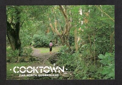QLD - c1980s POSTCARD - THE GALLOP BOTANIC GARDENS, COOKTOWN, QUEENSLAND
