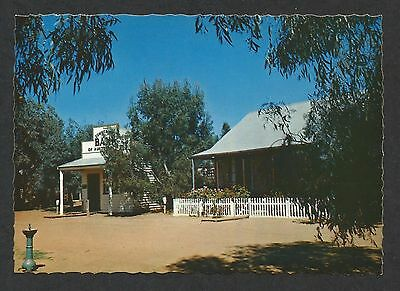 VIC - 1970s POSTCARD - COMMERCIAL BANK, PIONEER SETTLEMENT, SWAN HILL, VICTORIA