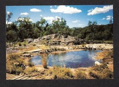 QLD - c1970s POSTCARD - TALLAROO HOT SPRINGS, MOUNT SURPRISE, QUEENSLAND