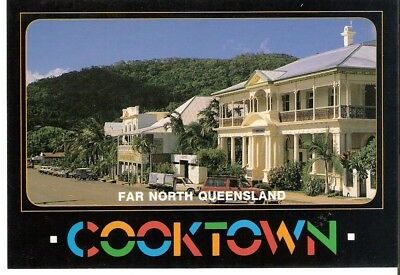 QLD - c1980s POSTCARD - MAIN STREET CHARLOTTE STREET, COOKTOWN, QUEENSLAND