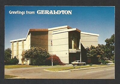 WA - c1970s POSTCARD - HOLY CROSS ANGLICAN CHURCH, GERALDTON, WESTERN AUSTRALIA