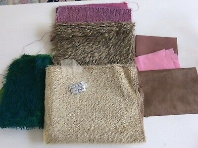 Bear Or Toy Mohair X 4 Pieces