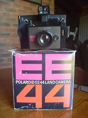 Vintage Retro 1970's Polaroid EE 44 Land Camera IOB & Instructions