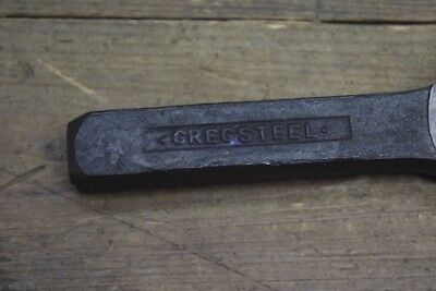 Vintage Gregsteel Tinsmith Seam Setting Punch Old Tool