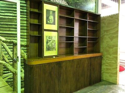 Art Deco sideboard and shelving unit