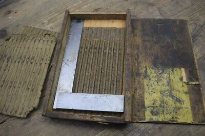 Vintage Boxed Moore & Wright 6 Inch Engineers Square  Old Tool