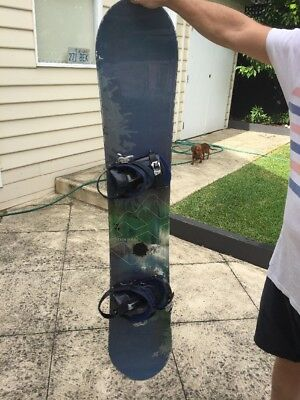 Morrow Snowboard Lithium 159 With Ride LS Series Bindings