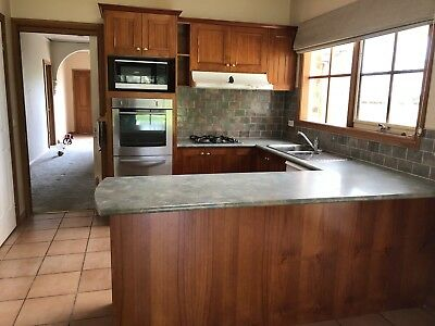 Complete Timber Kitchen With Appliances
