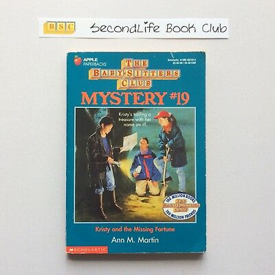 THE BABY-SITTERS CLUB MYSTERY #19 Kristy & The Missing Fourtune ~ Martin (1995)