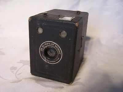 Vintage Popular Brownie Box Camera Kodak