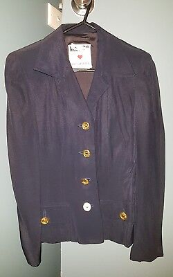 Vintage Moschino Ladies Suit Jacket and Skirt Sz 6