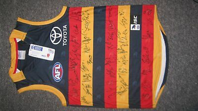 2017 AFL Adelaide Crows Jumper (medium size) signed by whole team