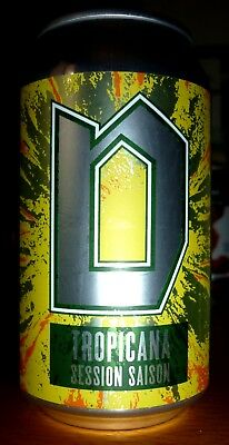 Collectable beer cans - Dainton Tropicana Session Saison 355ml (sticker label)