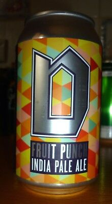 Collectable beer cans - Dainton Fruit Punch India Pale Ale 355ml (sticker label)