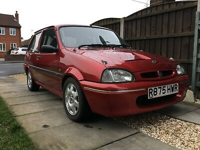 1997 Rover 100 / metro ascot - track car with 160bhp 1.8VVC engine - huge spec