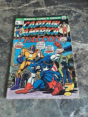 Captain America #170 First Appearance Falcon Wings 1974