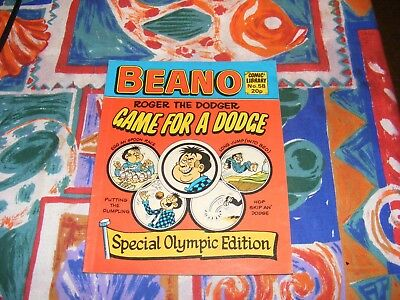 Beano Comic Library No.58 1984 Olympic Edition