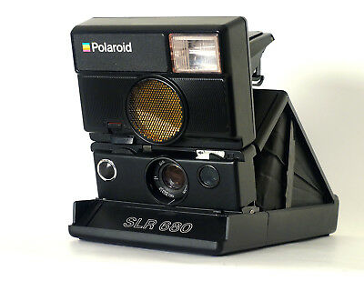 POLAROID SLR 680 Auto Focus Instant SLR Camera Flash Premium version of SX70