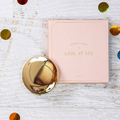 Odeme Gold Compact Mirror
