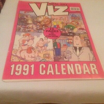 Viz Calendar 1991 -used, good condition