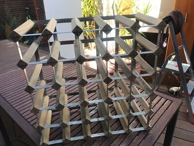 20 Bottle Timber Wine Rack - Complete Wine Storage Solution - Free Aus Postage!