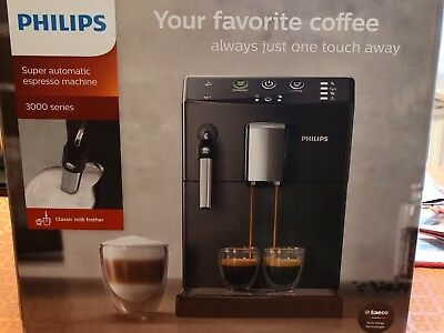 Machine à café expresso super-automatique 3000 PHILIPS HD8821 - en PARFAIT ETAT!