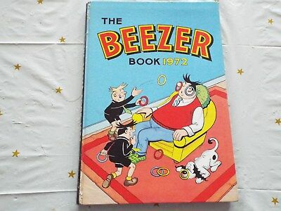 The Beezer Book Annual 1972 Good - not priced clipped
