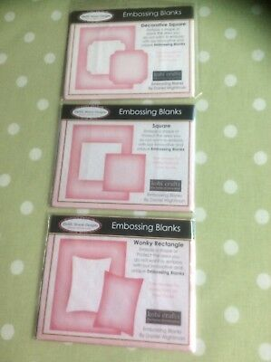 Debbi Moore Embossing Blanks