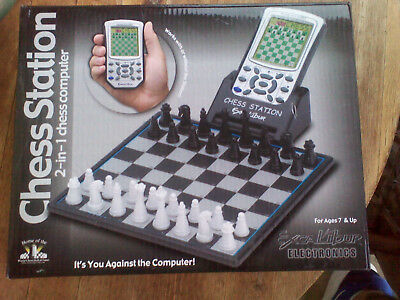 Excalibur Chess Station  2 In 1   Electronic Chess Computer
