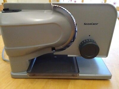 Silvercrest electric food slicer