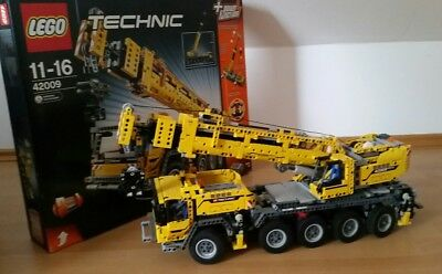 lego technic 42009 mk ii mobiler schwerlastkran baukran. Black Bedroom Furniture Sets. Home Design Ideas