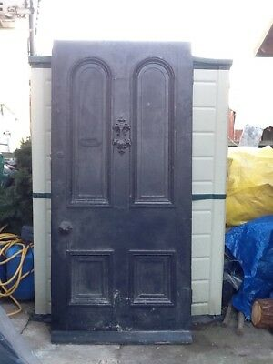 very large antique front door ideal for upcycling