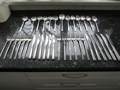 Vintage Viners Love Story Cutlery .. 6 Place Settings . 37 Pieces