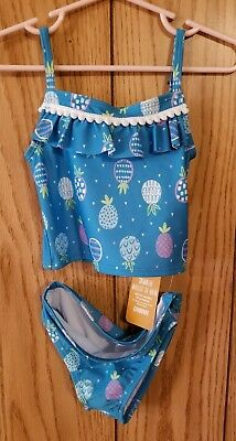 NWT Gymboree Toddler Girls Size 2T - Two Piece Swimsuit