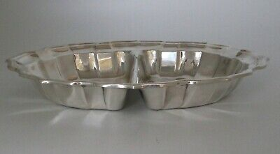 Sterling Silver Divided Tray by Frank Smith Chippendale