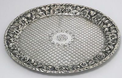 Repousse Sterling Silver Calling Card Tray by S. Kirk & Son Co