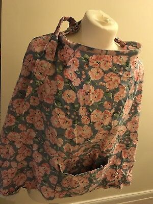 cath kidston Extra Wide Breastfeeding Maternity  Nursing Cover Pink Floral Print