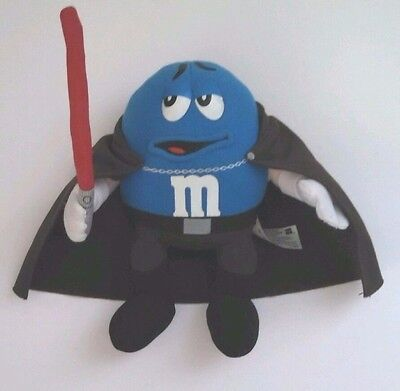 Blue M & M dressed as Count Dooku