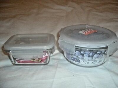 Lock&lock Microwave Or Oven To Table,2 Special Dishes Fish,veg,rice Ect (New)