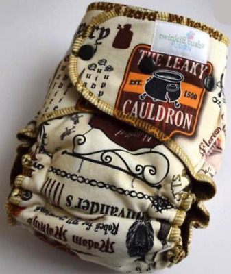 TWINKIE TUSH - FUSION - Back to Diagon Alley with chocolate cv - serged