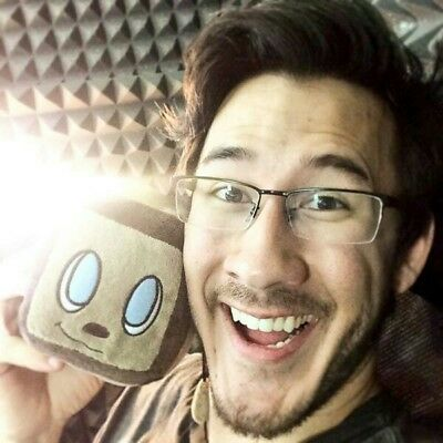 Markiplier Tiny Box Tim charity live stream plushy Extremely Rare