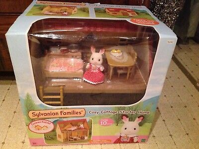 sylvanian Families Cosy Cottage Starter Home 5242 inklusive Figur OVP