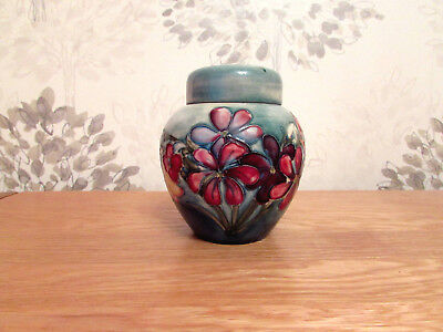 Moorcroft Ginger Jar, Spring Flowers Design.