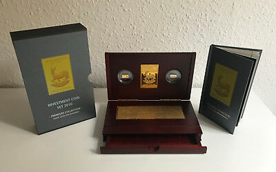 Investment Coin Set 2010 - Premium Collection - Silver, Gold and Diamands